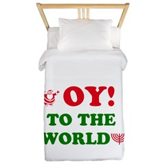 Oy To the World Twin Duvet