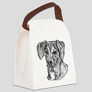 B@W Mutt Canvas Lunch Bag