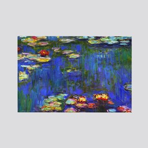 Laptop Monet WL1916 Rectangle Magnet
