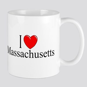 """I Love Massachusetts"" Mug"