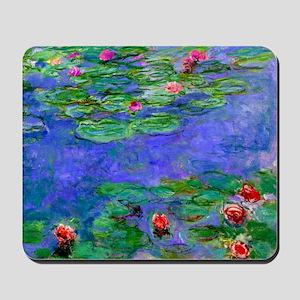 Pillow Monet WLRed Mousepad