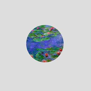 Pillow Monet WLRed Mini Button