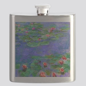 Pillow Monet WLRed Flask