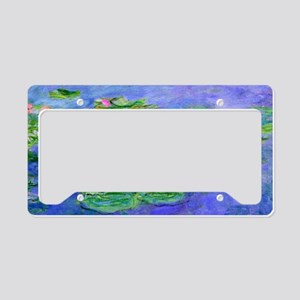 Clutch Monet WLRed License Plate Holder