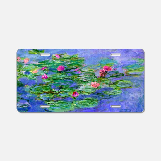 Clutch Monet WLRed Aluminum License Plate