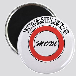 Wrestling Mom Design 2 Magnet