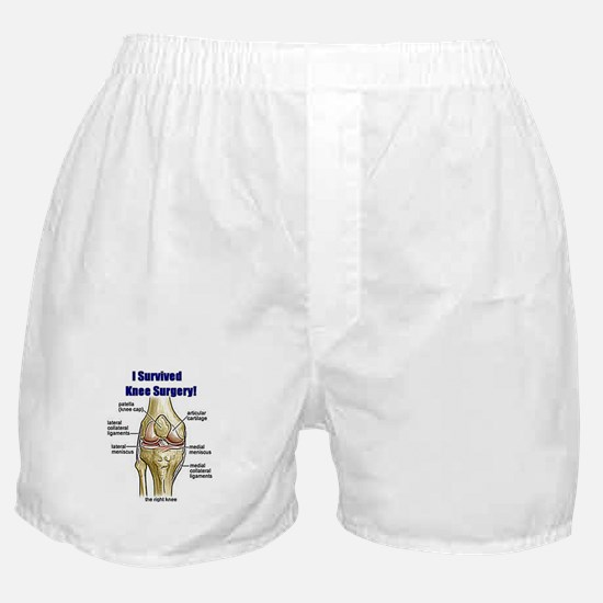 Knee Surgery Gift 10 Boxer Shorts