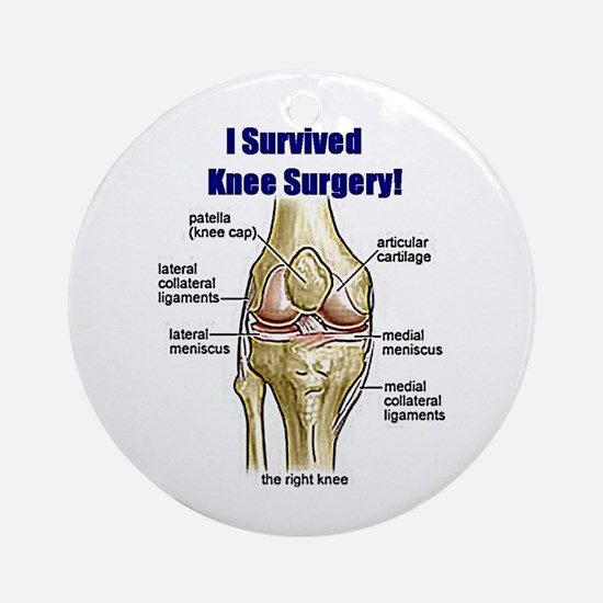 Knee Surgery Gift 10 Ornament (Round)