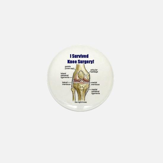 Knee Surgery Gift 10 Mini Button