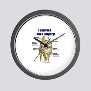 Knee Surgery Gift 10 Wall Clock