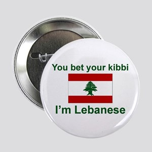 "Lebanese Kibbi 2.25"" Button"
