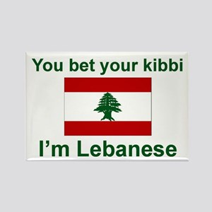 Lebanese Kibbi Rectangle Magnet