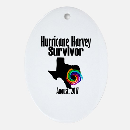 Cute Harvey Oval Ornament