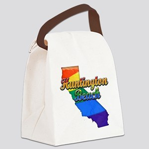 Huntington Beach Canvas Lunch Bag