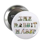 """Rabbit Habit 2.25"""" Button (10 pack)"""