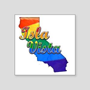 """Isla Vista Square Sticker 3"""" x 3"""""""