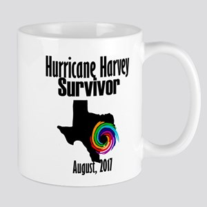 Hurricane Harvey Survivor 2017 Mugs