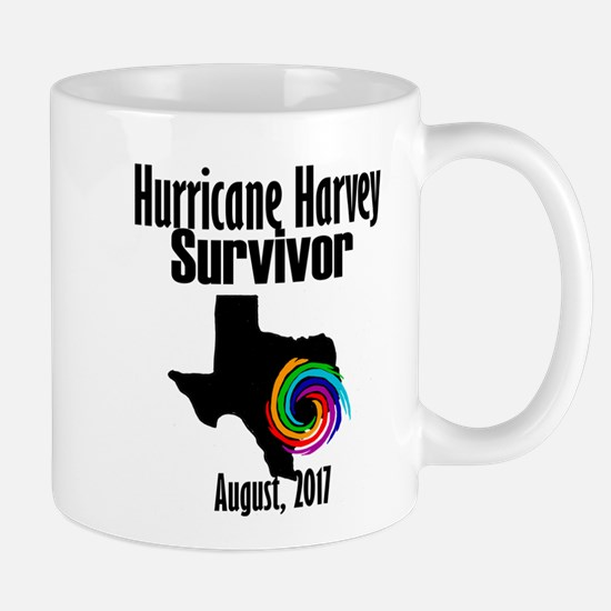 Hurricane Harvey Survivor 2017 Mugs