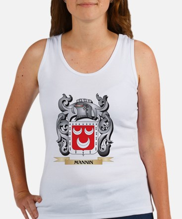 Mannin Coat of Arms - Family Crest Tank Top