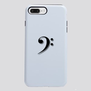 Bass Clef by Leslie Harlo iPhone 7 Plus Tough Case