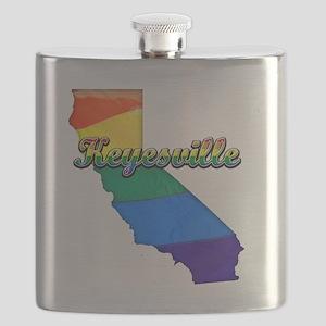 Keyesville Flask