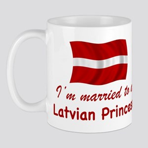 Married To A Latvian Princess Mug