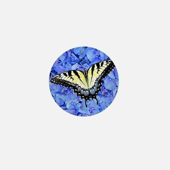 Yellow Swallowtail Butterfly Unique Gi Mini Button