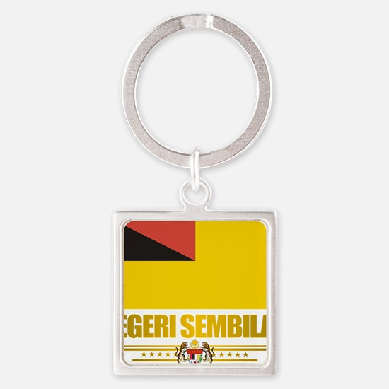 Negeri Sembilan (Flag 10)2 Square Keychain