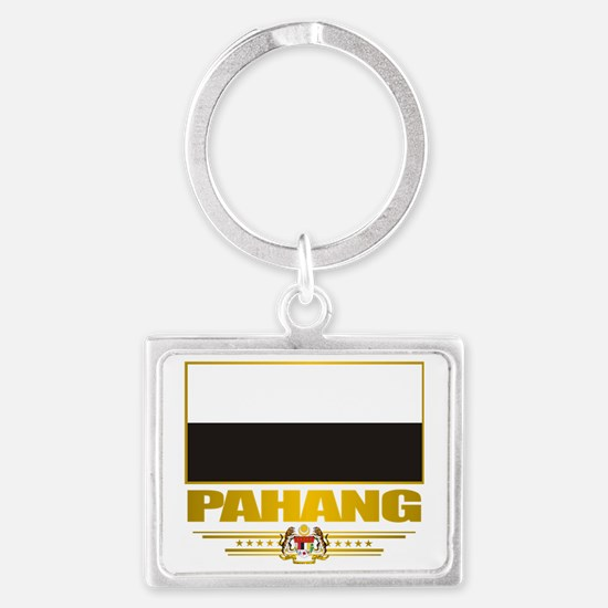 Pahang (Flag 10)2 Landscape Keychain