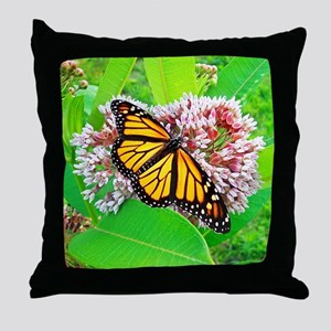 Monarch Butterfly Unique Gifts Throw Pillow