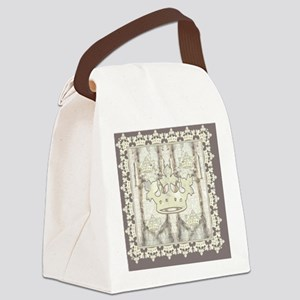 textureCrTreeFrmPSQ Canvas Lunch Bag