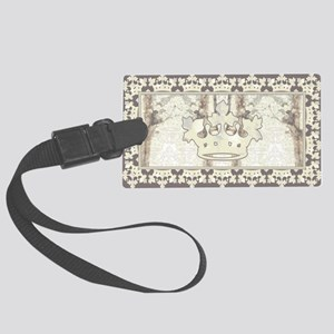 textureCrTreeFrPBeBag Large Luggage Tag
