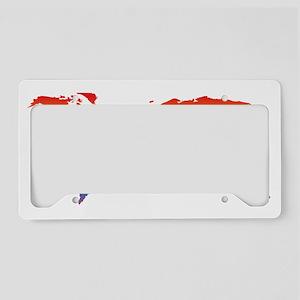 world-design-equirect_rainbow License Plate Holder