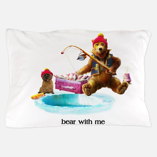 Cairn Terrier Bear With Me Pillow Case