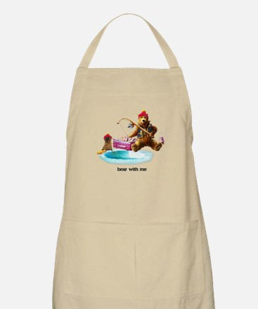 Cairn Terrier Bear With Me Light Apron