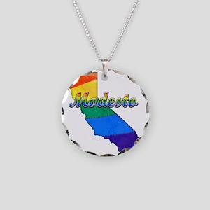 Modesto Necklace Circle Charm