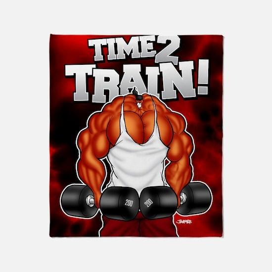 TIME2TRAIN_mp Throw Blanket