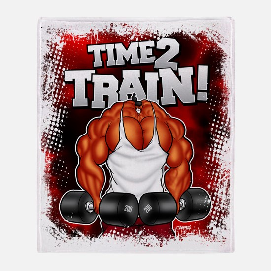 TIME 2 TRAIN! Throw Blanket