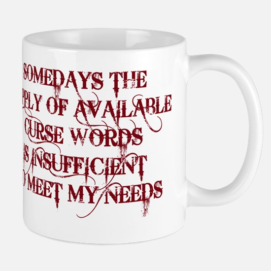 CURSEWORDS copy Mug