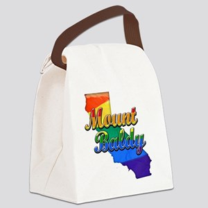 Mount Baldy Canvas Lunch Bag