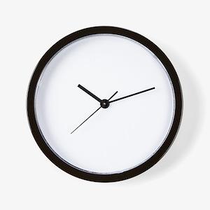 BEHAVEdrk copy Wall Clock