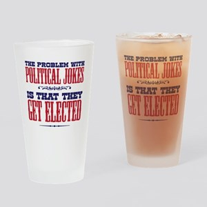 politicaljokes copy Drinking Glass