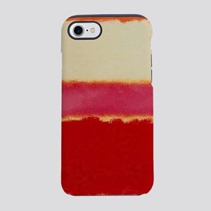 ROTHKO WHITE RED PINK iPhone 7 Tough Case