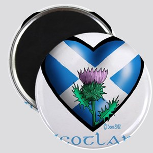 Heart and Thistle Magnet
