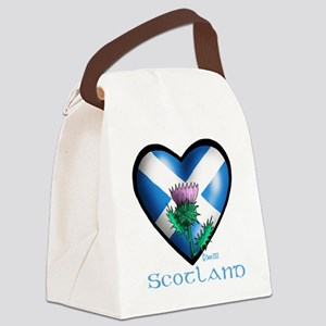 Heart and Thistle Canvas Lunch Bag