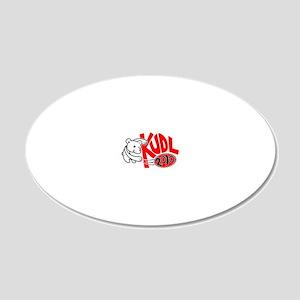 KUDLDesign10-3 20x12 Oval Wall Decal