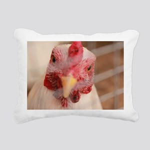 Chickens Rectangular Canvas Pillow