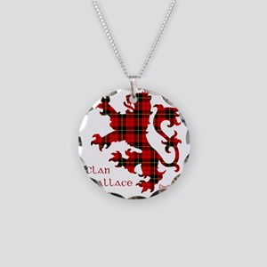 lion Wallace Necklace Circle Charm