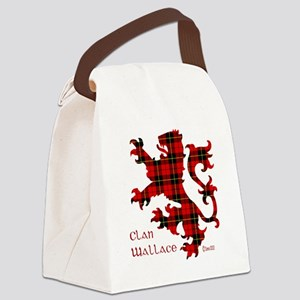 lion Wallace Canvas Lunch Bag