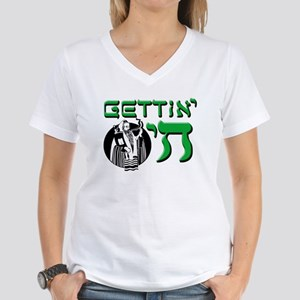 Gettin' Chai Women's V-Neck T-Shirt
